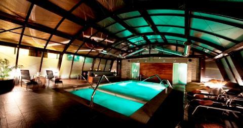 el SPA del hotel Himàlaia Baqueira