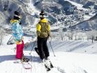 Esquiando en Naeba