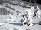 Port Del Compte en invierno, zona de Sant Grau