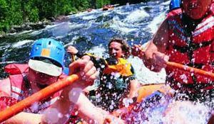 Un día de rafting