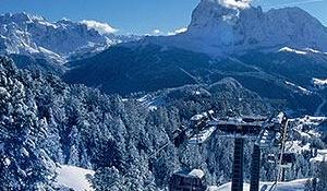 Esquí en Val Gardena, Dolomitas