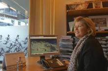 """Wilma H. directora de Marketing de St. Anton: """"Ser el mayor dominio de Austria es un gran reclamo"""""""