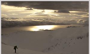 Lyngenalps, esqui en el ártico noruego