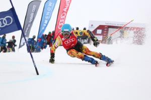 Alex Puente, directo a la Champions League del Esquí Alpino con el equipo de la RFEDI