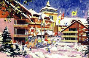 Mineral King Ski Resort: la estación de esquí soñada por Walt Disney