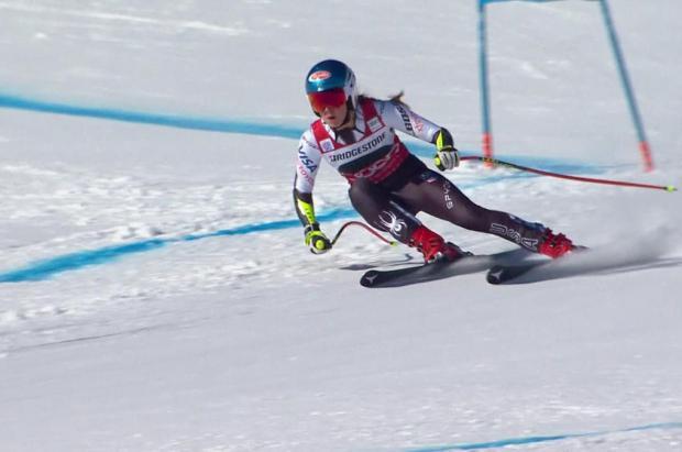 Una insaciable Mikaela Shiffrin logra su cuarta victoria de la temporada en St. Moritz