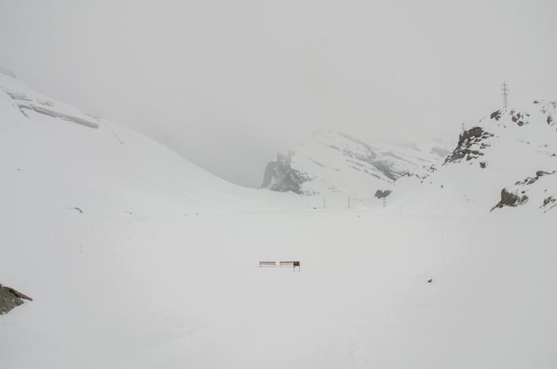 Daubensee congelado