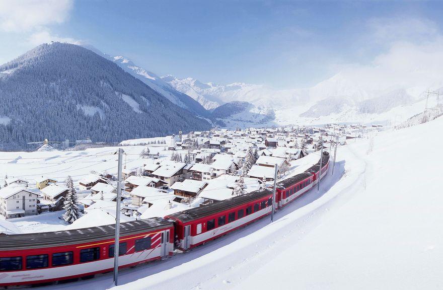 el Glacier Express.