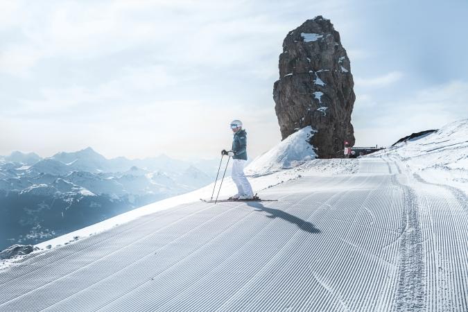 esquiando en gstaad