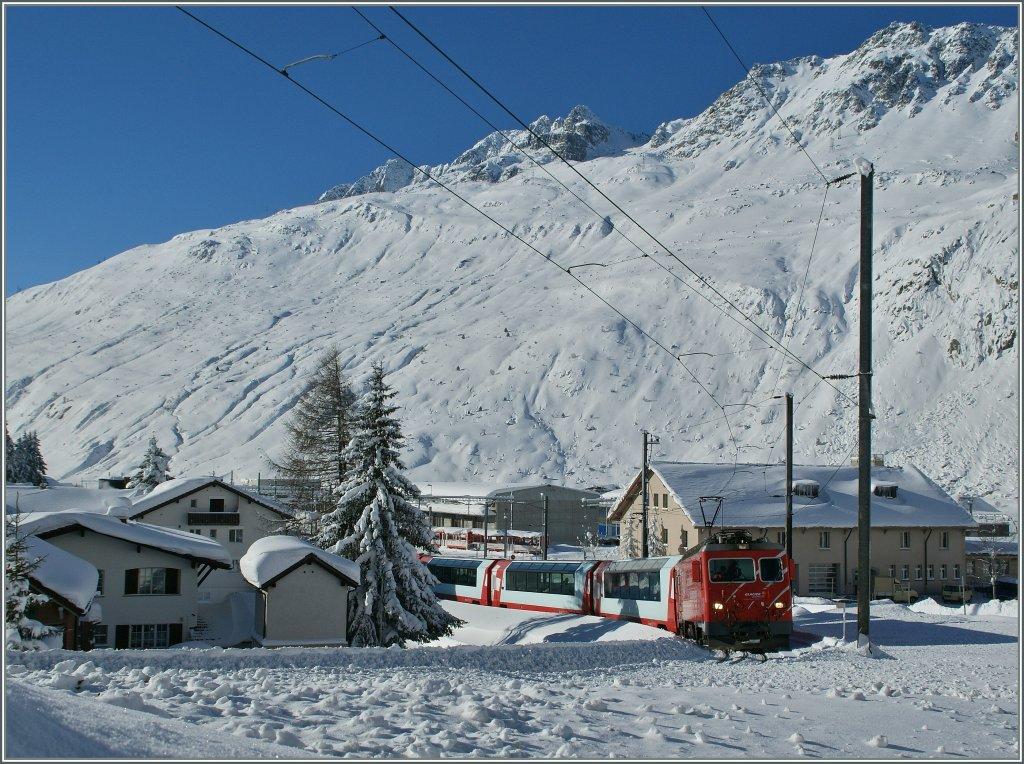 El Glacier Express y los increíbles paisajes alpinos