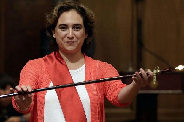 Ada Colau es alcaldesa de Barcelona desde las elecciones de 2015