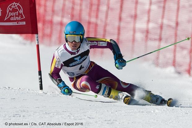 Albert Ortega ya forma parte del equipo de esquí alpino de la RFEDI. Foto cedida por RFEDI