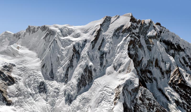 El Annapurna es la décima montaña más alta de la Tierra entre los catorce ochomiles