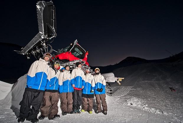 A.S.P. construye y diseña en Vallnord Pal/Arinsal uno de los mejores snowparks del sur de Europa