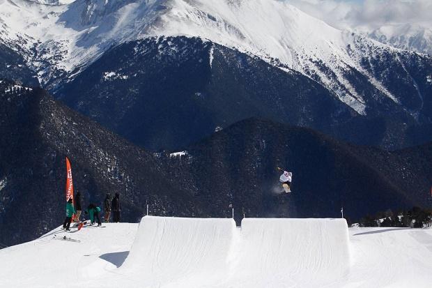 El Snowpark de A.S.P. en Valnord Arinsal cenebra numerosos eventos de FreeStyle durante la temporada