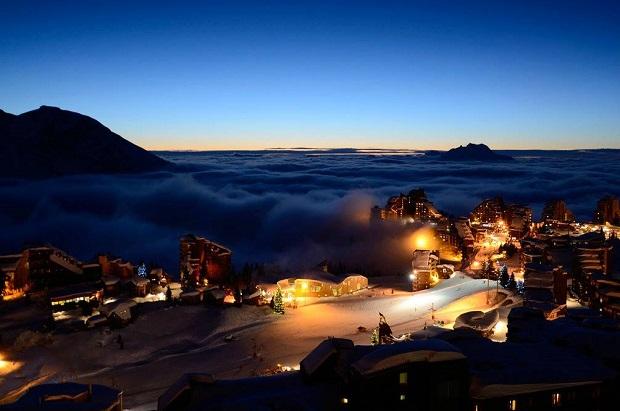 Los grandes Resorts como Avoriaz han resistido bien el difícil invierno 2015/16. Foto crédito: Avoriaz