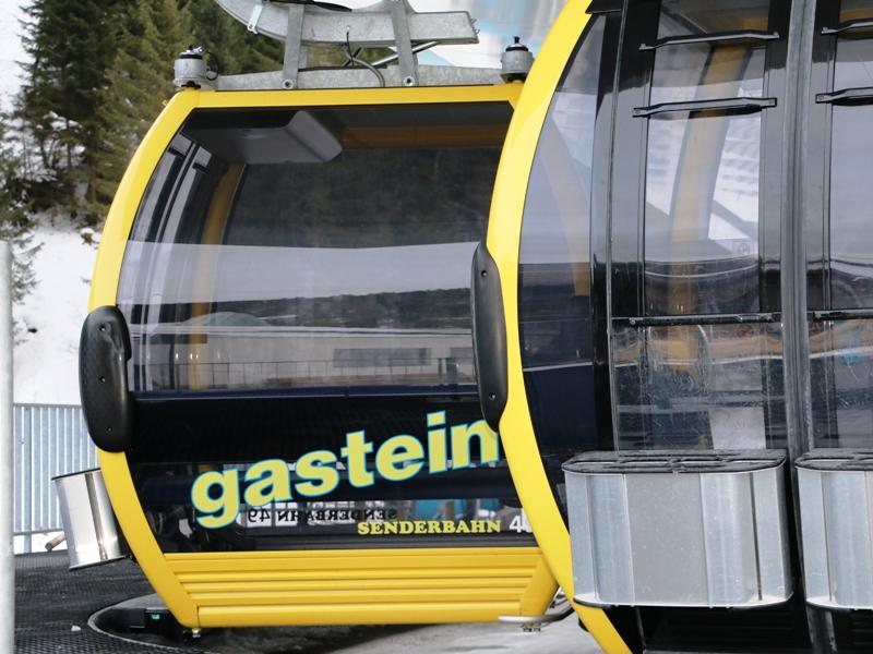El telecabina Senderbahn, situado en Angertal. Crédito: Lugares de Nieve