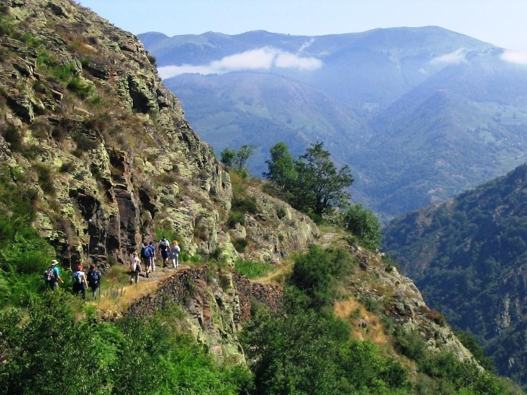De camino hacia el Coret o Collado de Pan. Crédito Tonho Porras (Esqui-Ando)