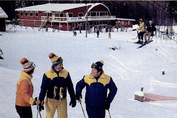 En los 70, ya existían estos exclusivos clubs para millonarios. Foto: Bear Creek Ski Club en Vermont