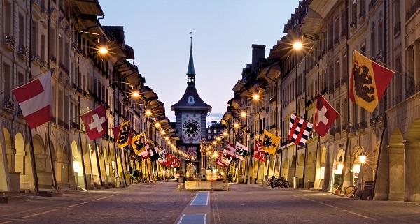 Berna, capital de facto de Suiza por Jan Geerk. Foto de Turismo de Suiza