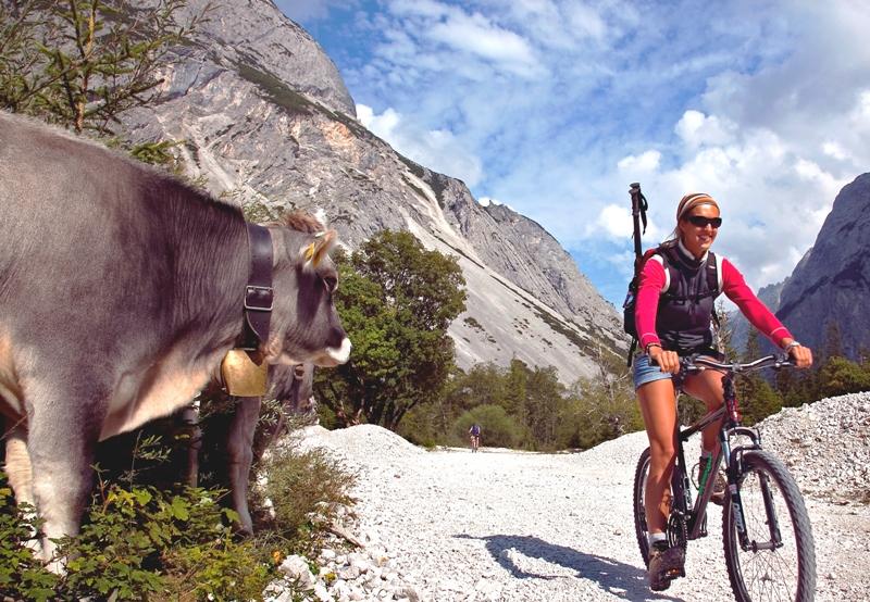 Ruta de BTT en los alrededores de Innsbruck
