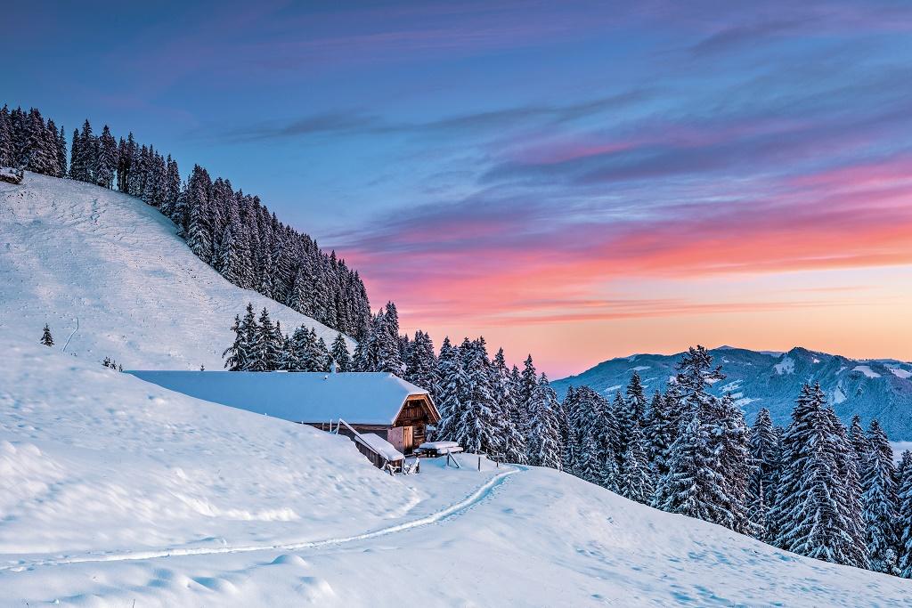 Cabaña Moleson, Friburgo. Foto: turismo de Suiza