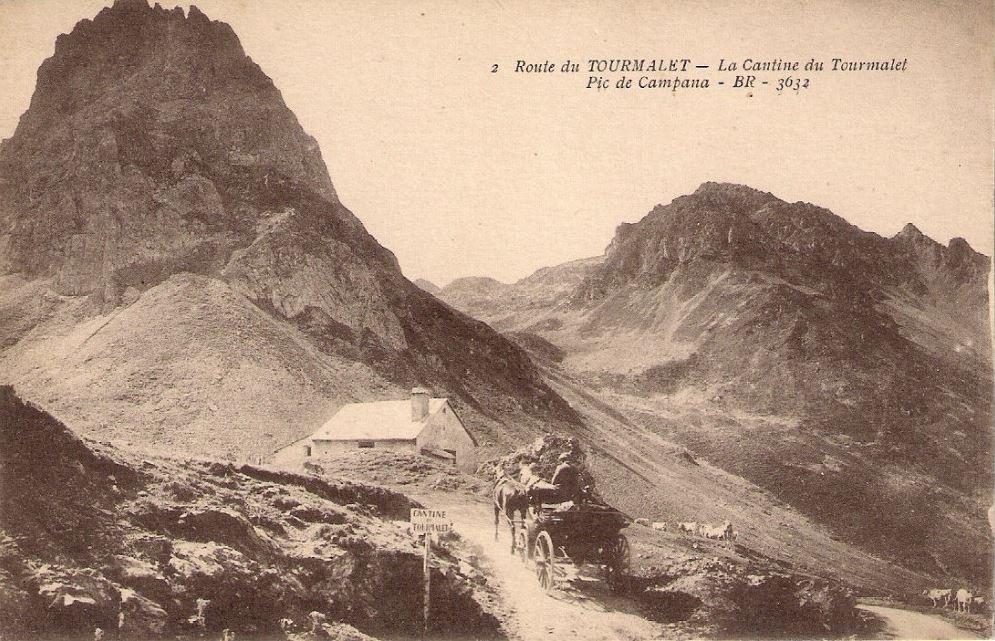 Cantine du Tourmalet en la Route Thermale