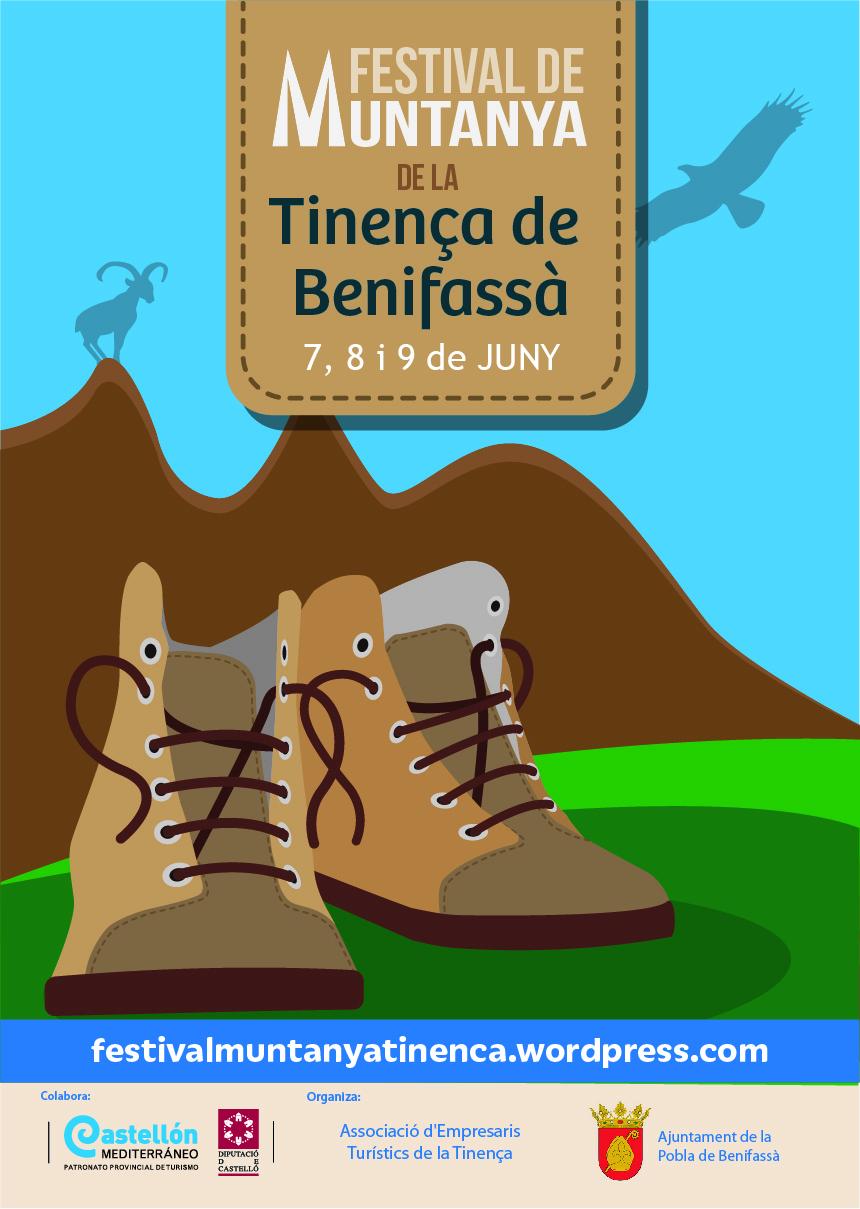 Cartel Segundo Festival de Montaña de la Tinença de Benifassà