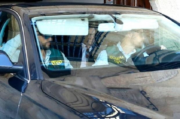 La Guardia Civil investiga la presunta corrupción en el Caso Púnica al ex-presidente de la Diputación leonesa. Archivo