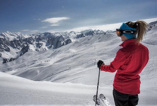 Cauterets tiene todavía entre 1,60 y 2,90 m de espesores de nieve en sus pistas. Foto: cauterets.com