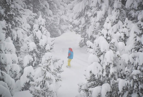 Snowboard en Cerler. Foto de Ana Cruzat