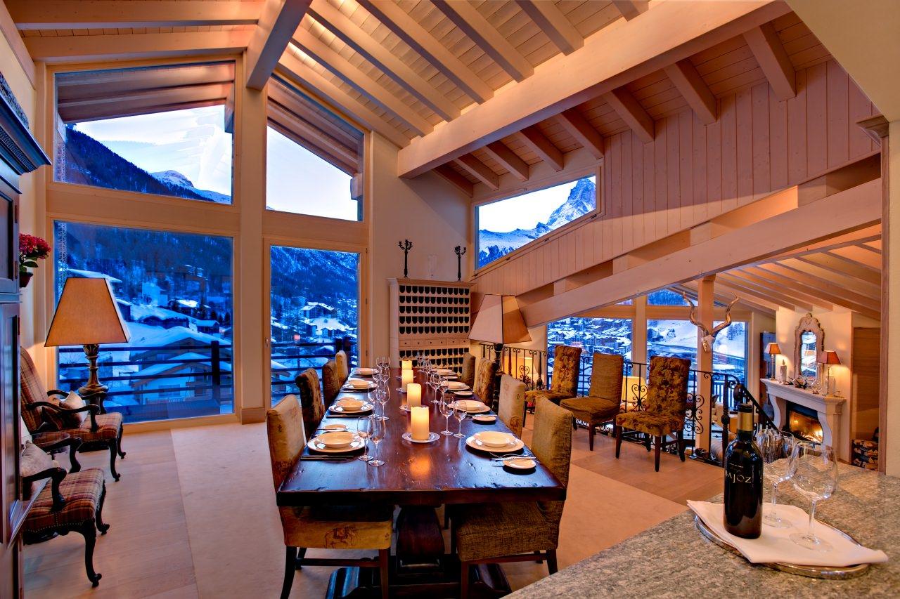 Una casa de ensue o chalet grace de zermatt lugares de for Corso di arredatore d interni