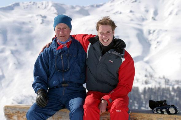 familia real britanica gstaad