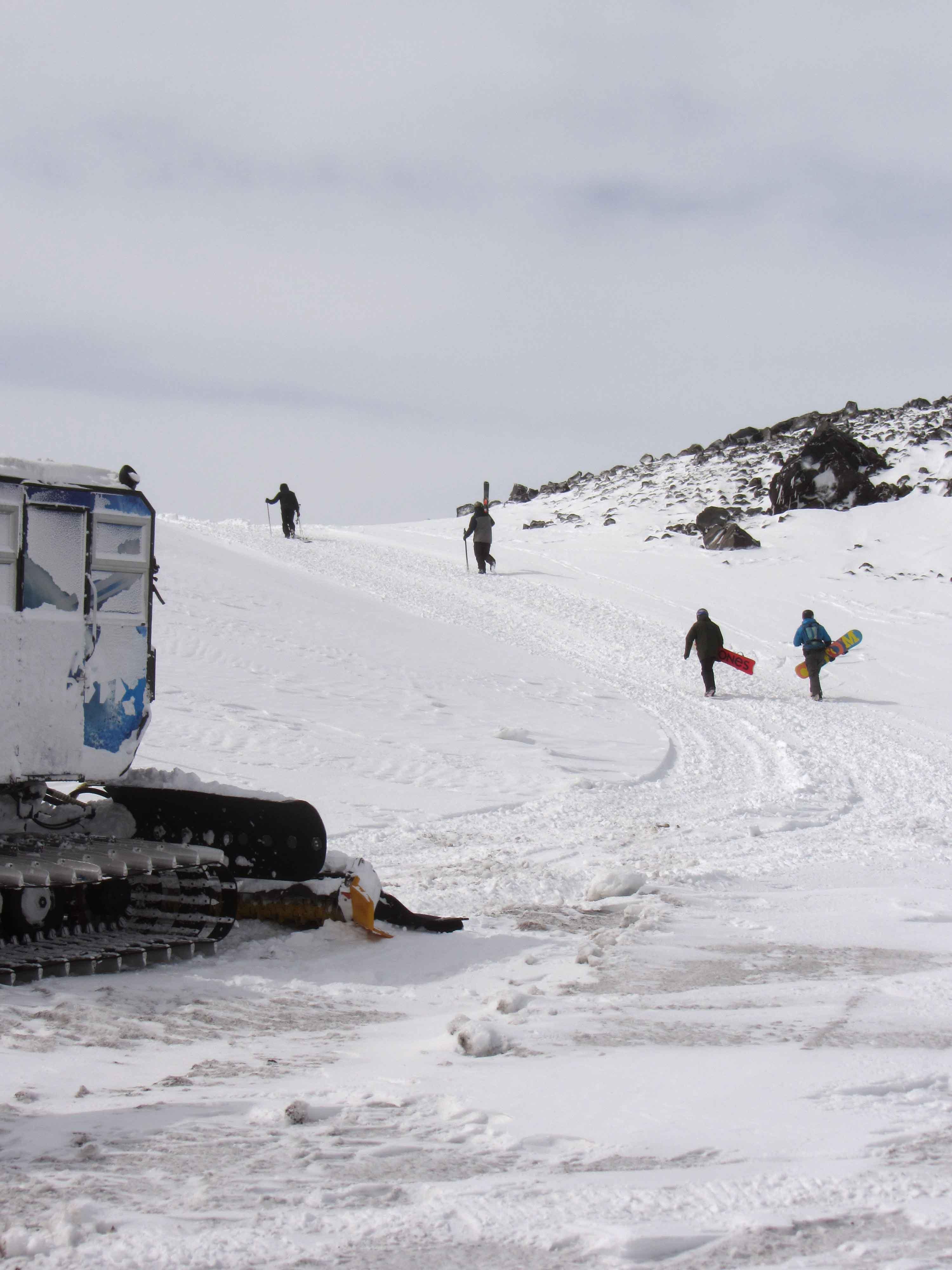 catskiing en Nevados
