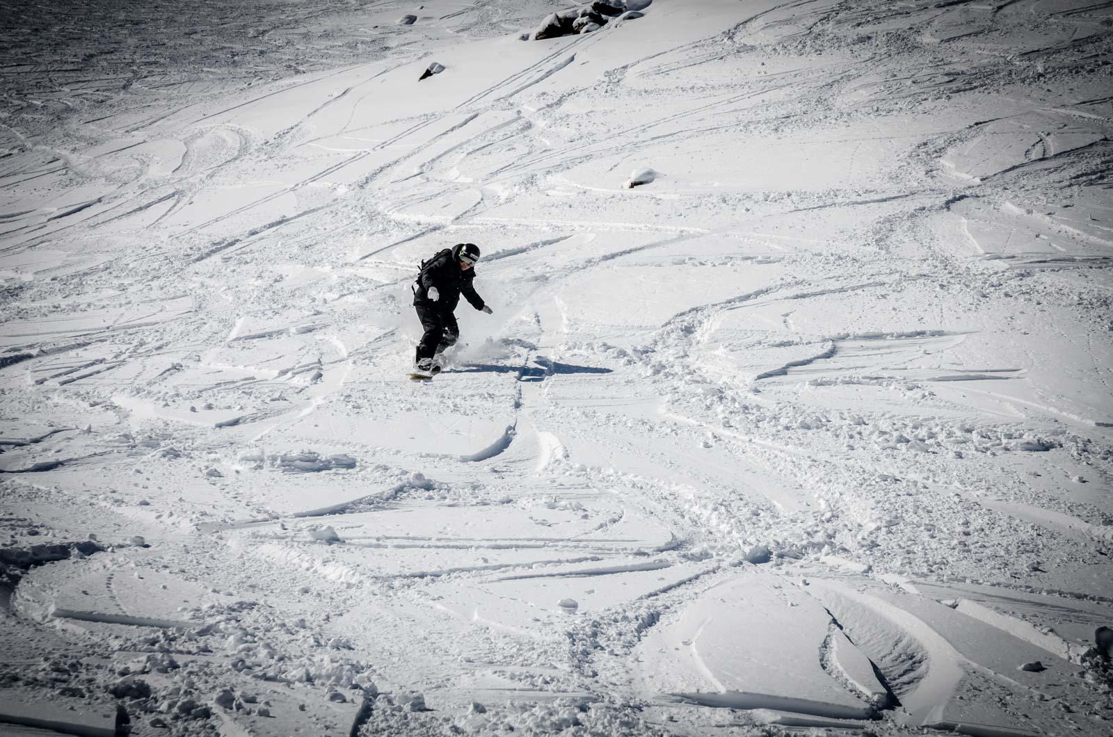 freeride en nevados de chillan