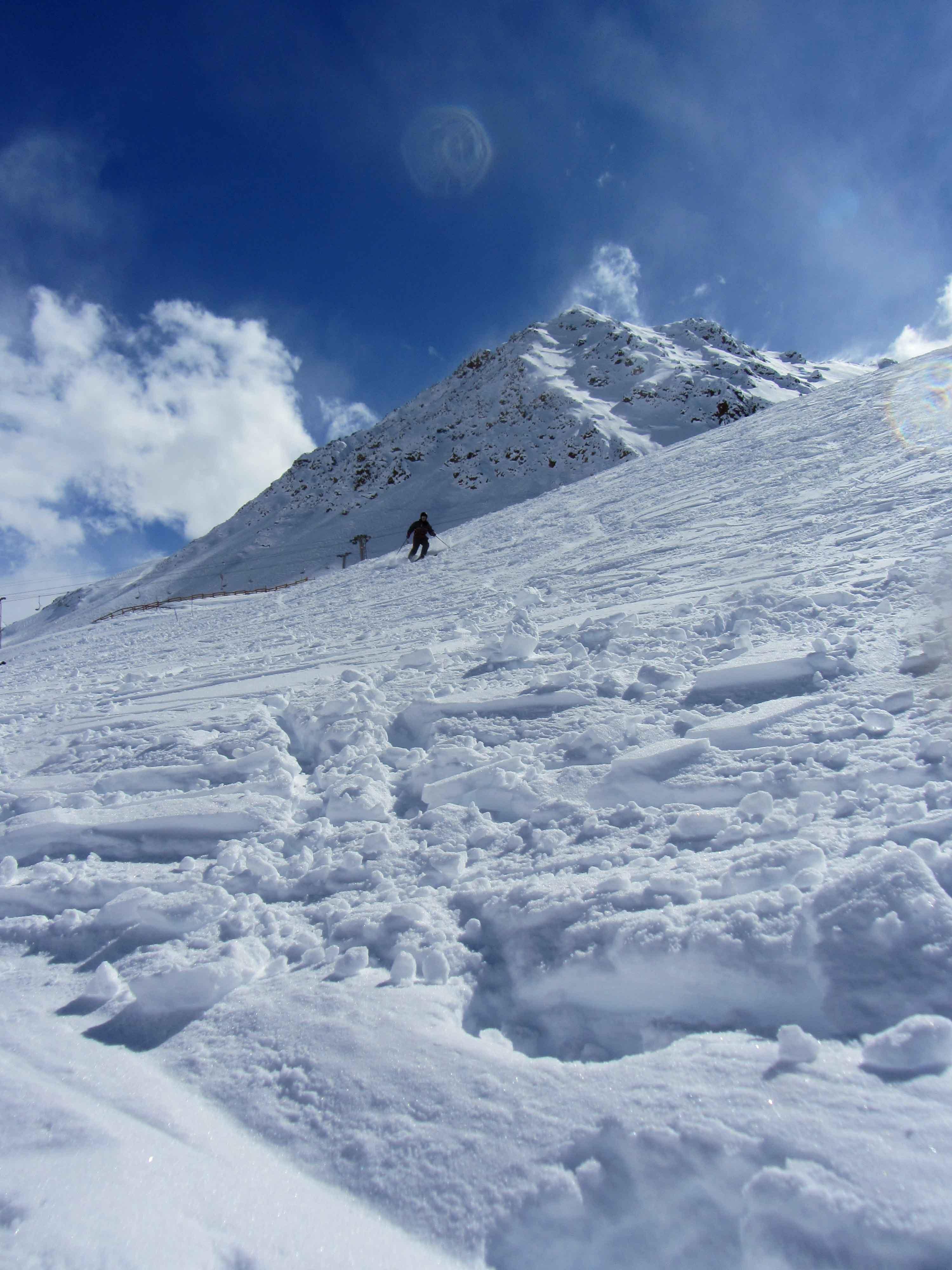 esqui en penitentes