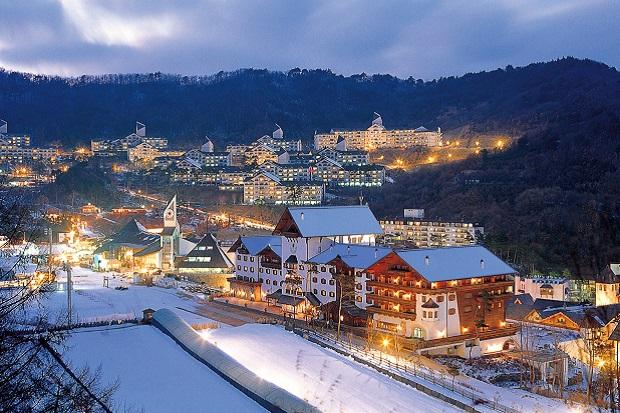 Muju (Deogyusan) ski resort, Corea del Sur