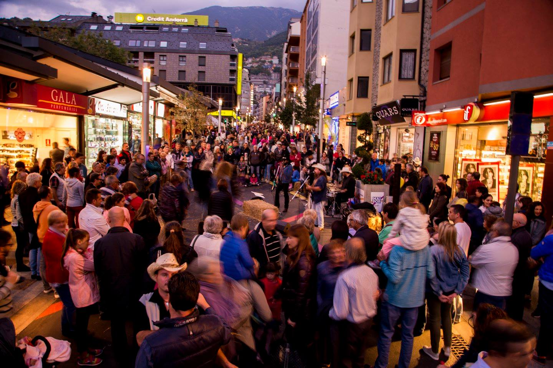 Andorra la Vella. Avinguda de Meritxell