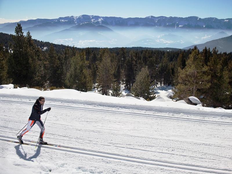 El esquí de fondo, una modalidad que permite disfrutar como ninguna del contacto directo con la naturaleza