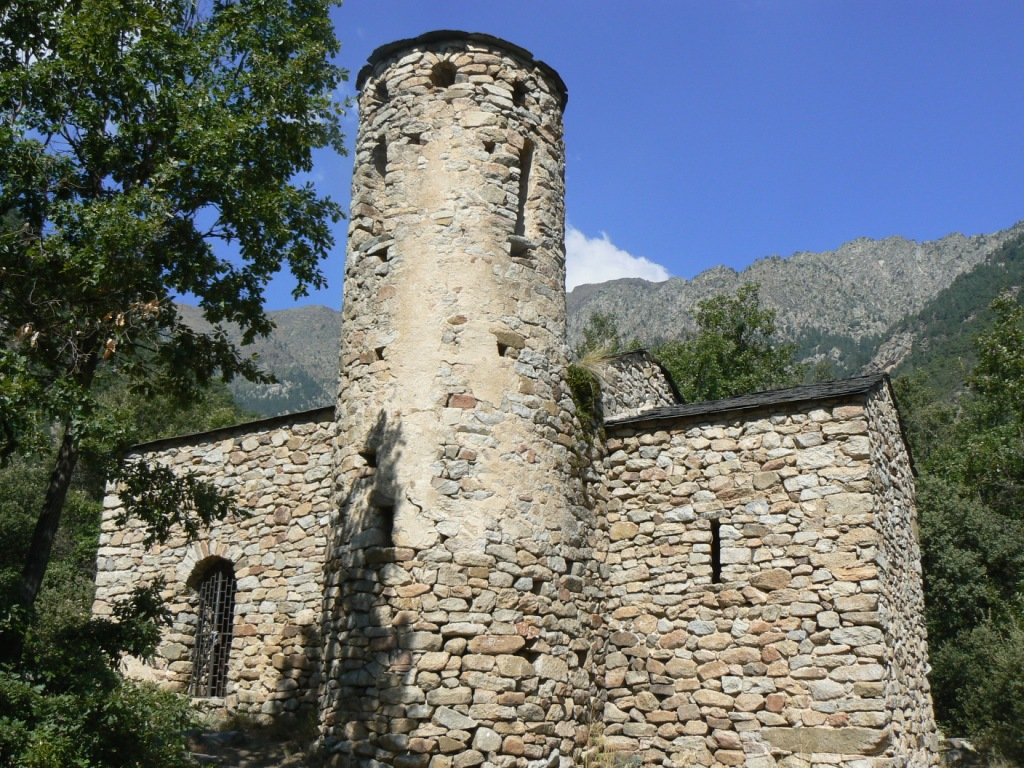 Ermita de Sant Vivenç d'Enclar. Foto-crédito: Tribuna Berguedana.blogspot.com