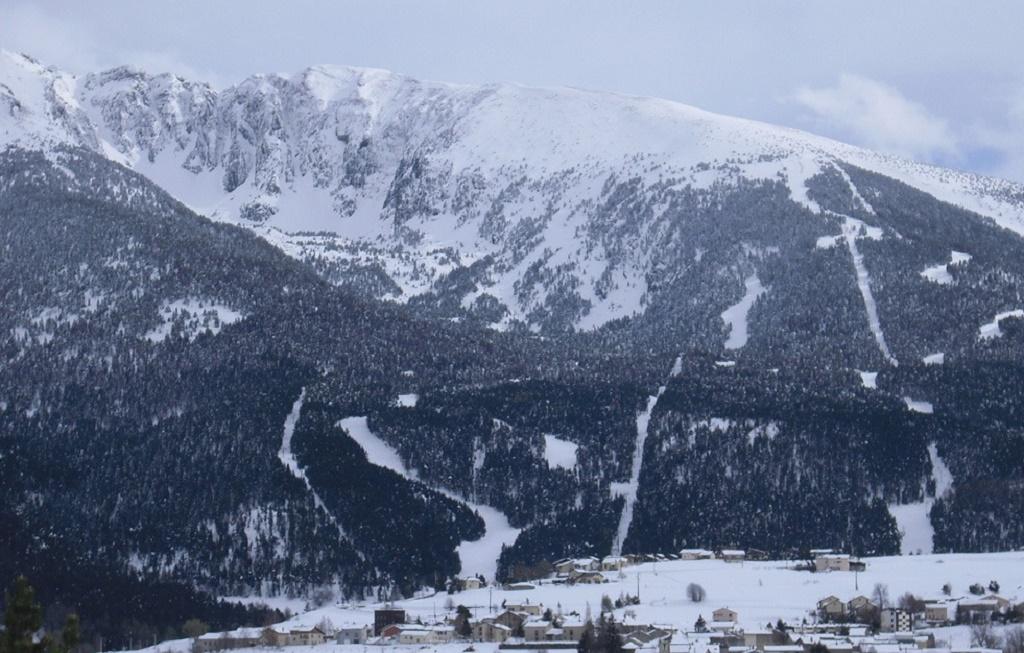 La estación de esquí del Espace Cambre d´Aze y Saint Pierre des Forcats