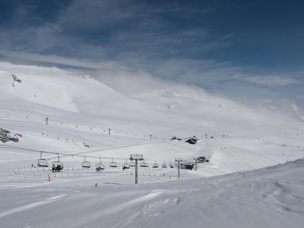 Imagen de la estación de esquí de Alto Campoo en Cantabria