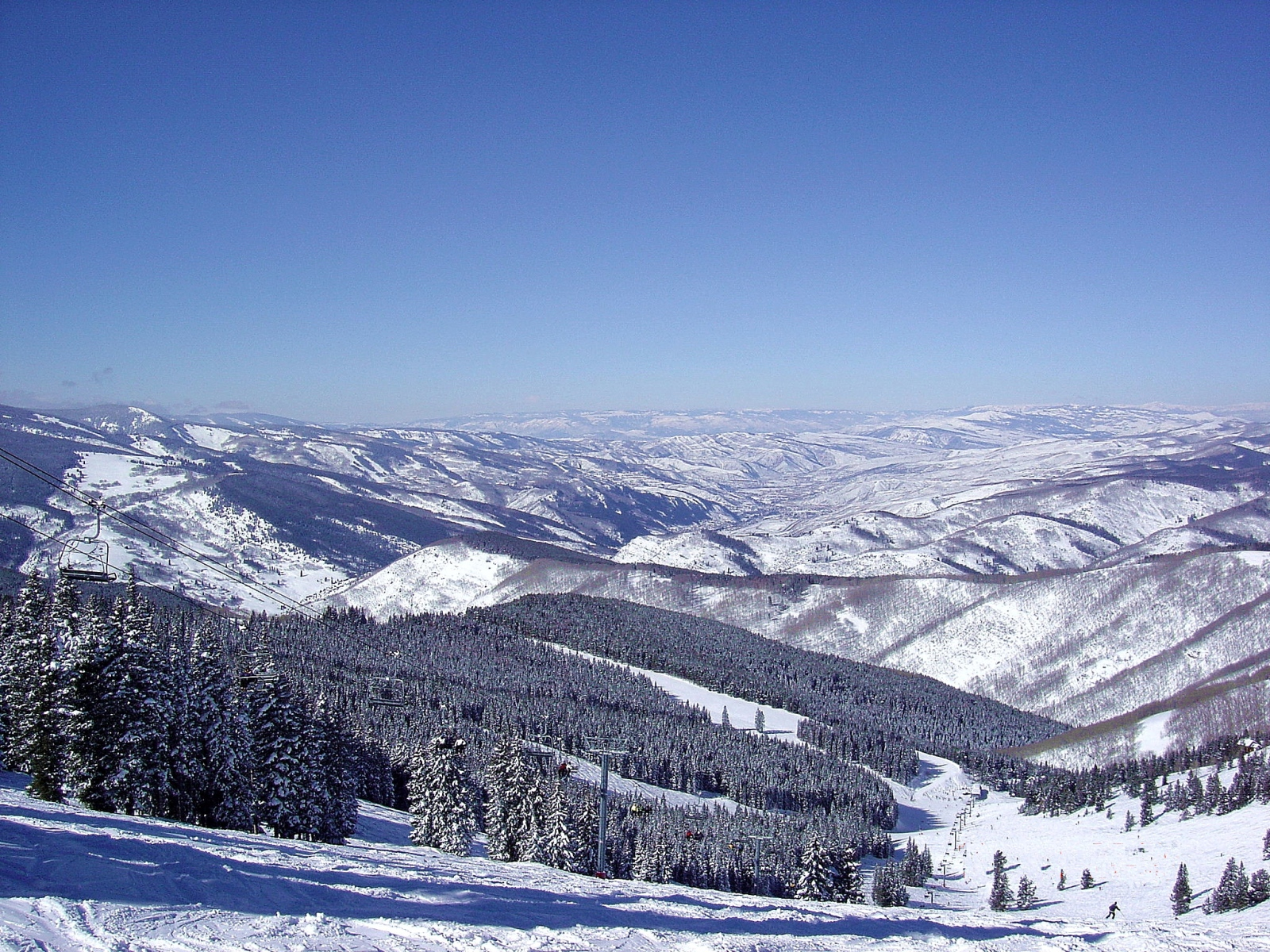 Panorámicas de Colorado,Vail