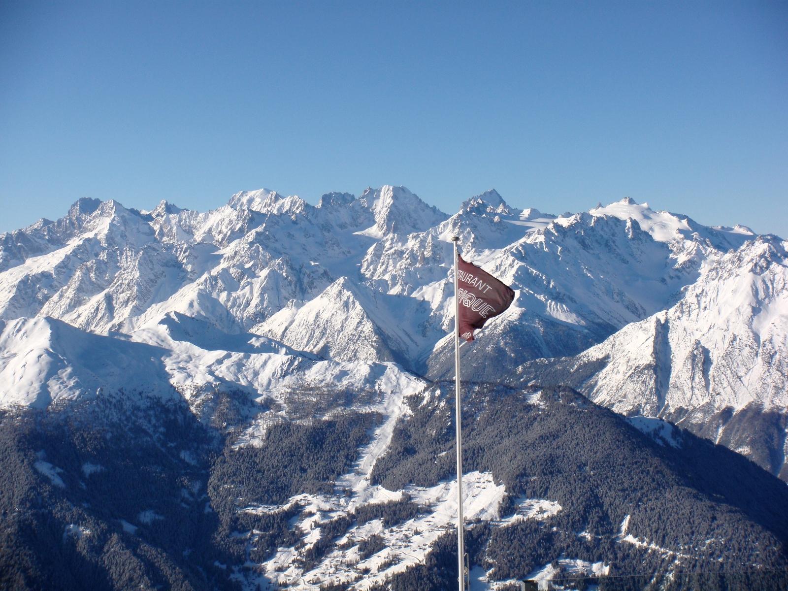 Montañas de Verbier
