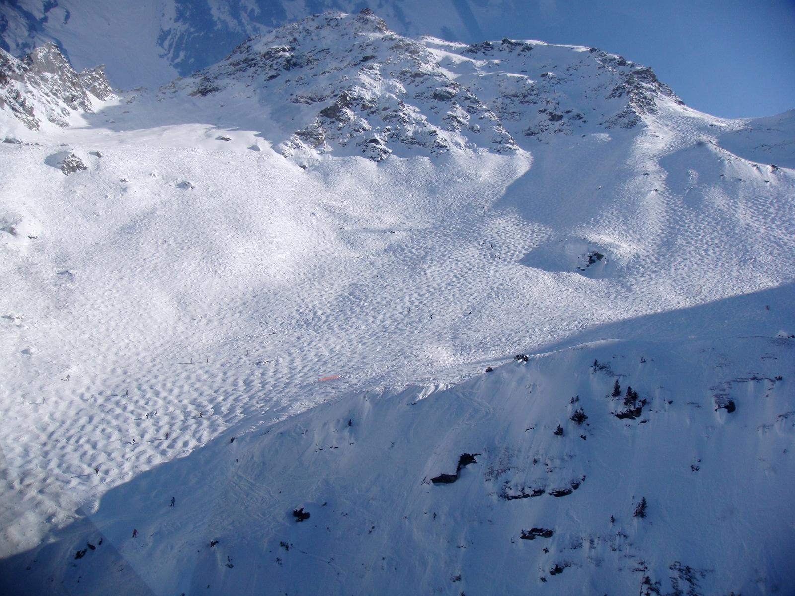 Montaña del Mont-Fort en Verbier.