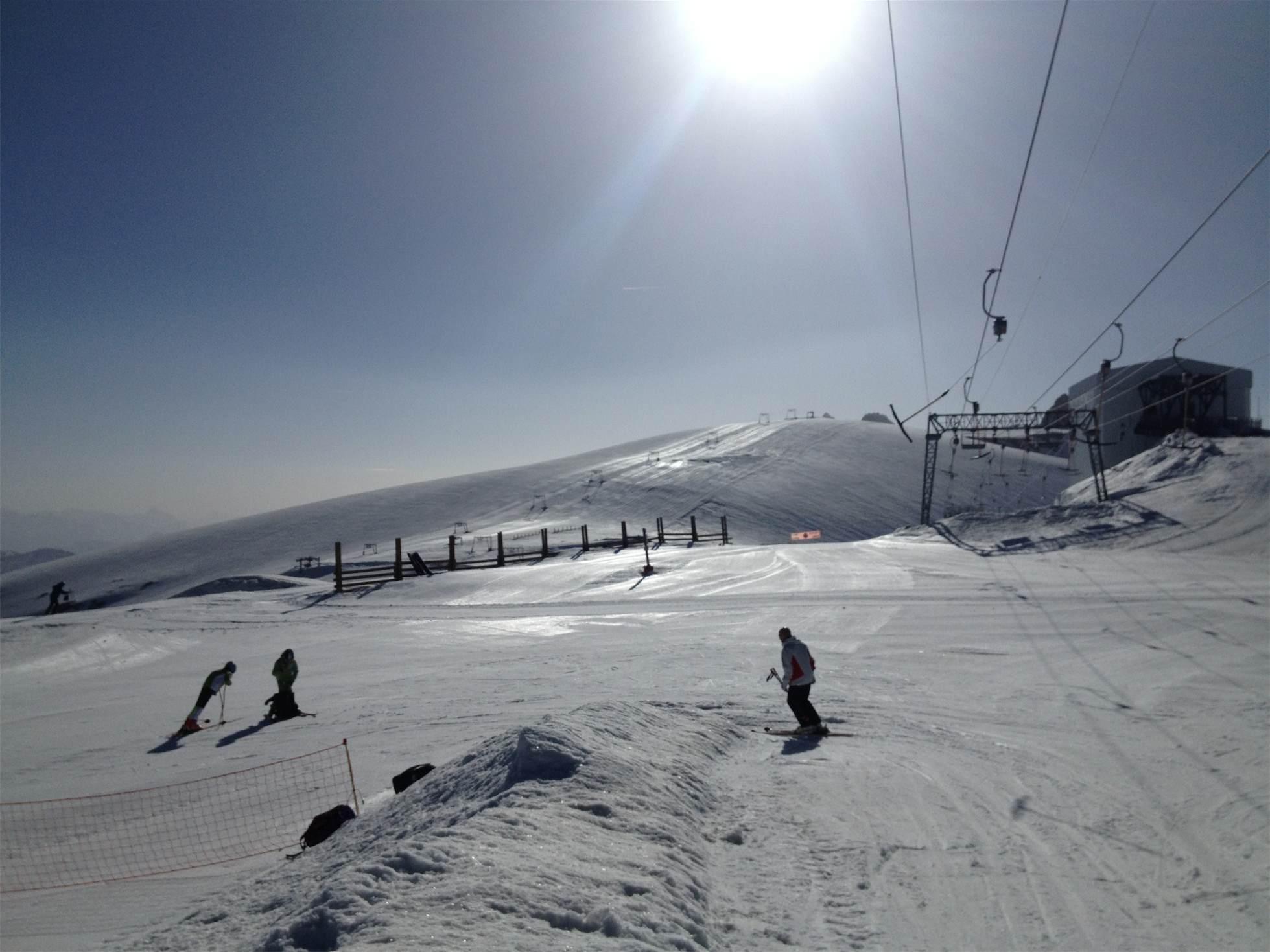 Les 2 Alpes summer ski