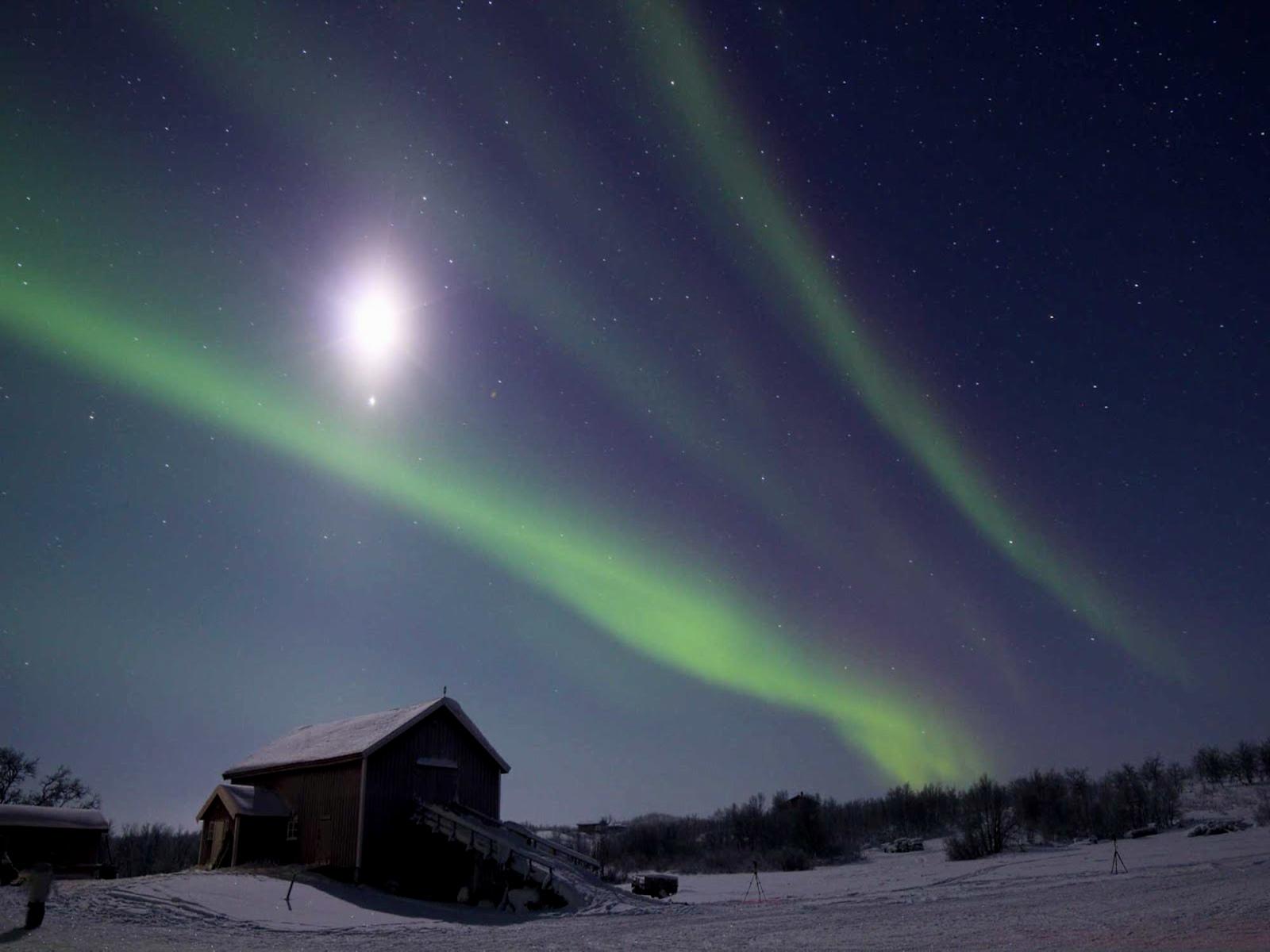 Aurora en Finlandia Laponia