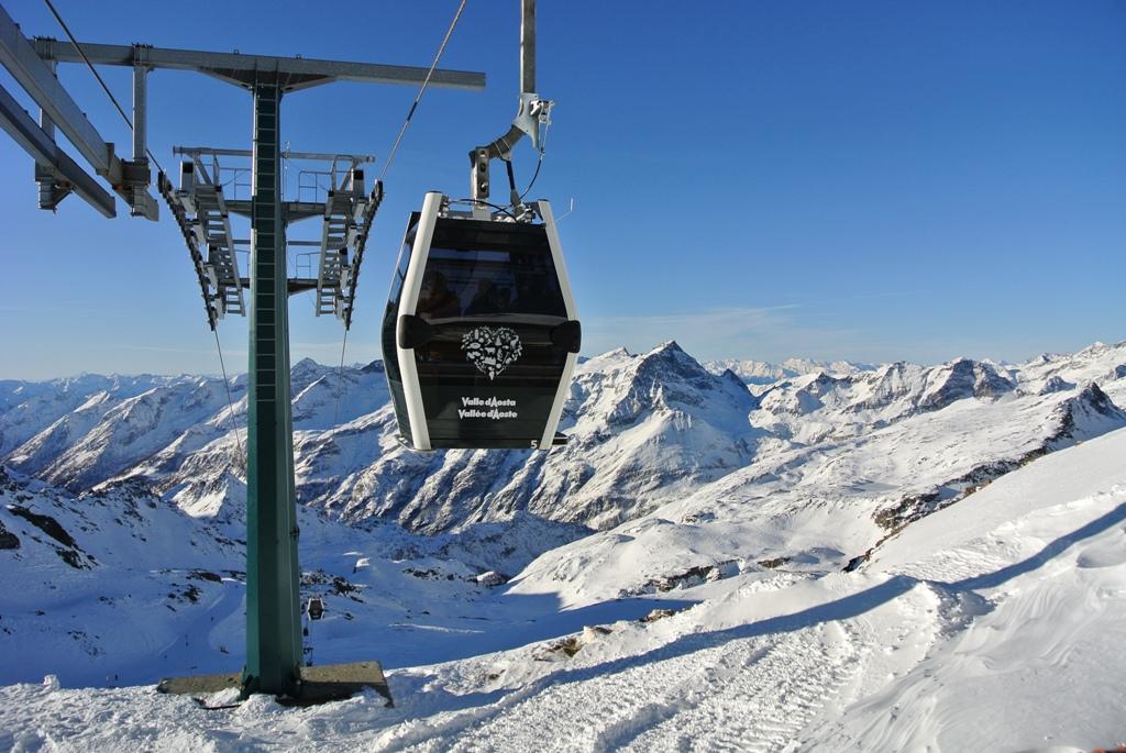 Monterosa ski Telecabina Stafal-Passo dei Salati