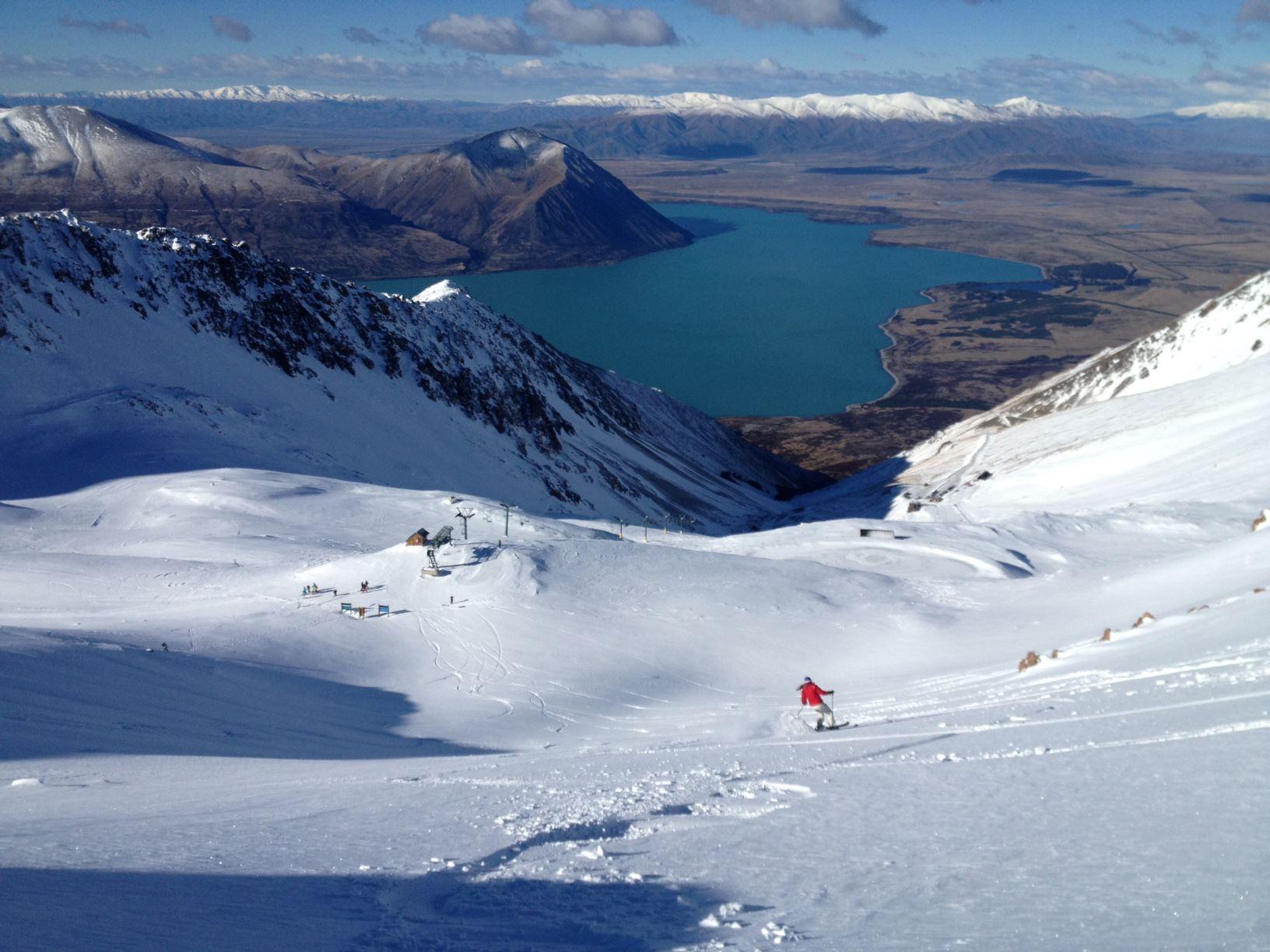 Nueva Zelanda, Isla del Sur, South Island, Ohau Snow Fields