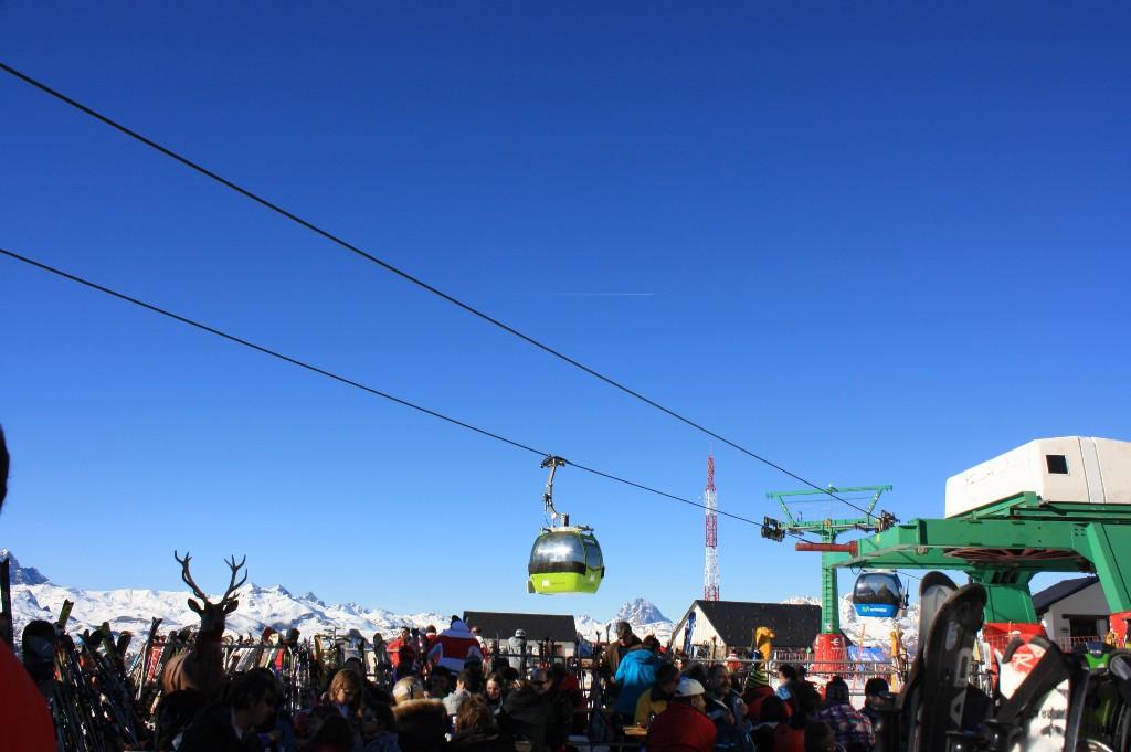 Imagen de la estación de esquí de Panticosa en el Pirineo de Huesca